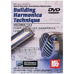 Image for Building Harmonica Technique Volume 1 & 2 (DVD) from SamAsh