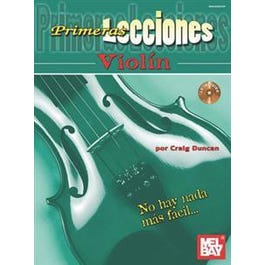 Mel Bay Primeras Lecciones Violin (Book/CD Set)