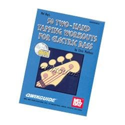 Image for 50 Two Hand Tapping Workouts for Electric Bass (Book & CD) from SamAsh