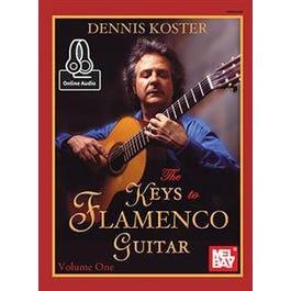 Mel Bay The Keys to Flamenco Guitar Volume 1 (eBook+Online Audio)