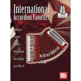 Mel Bay International Accordion Favorites (Book + Online Audio)