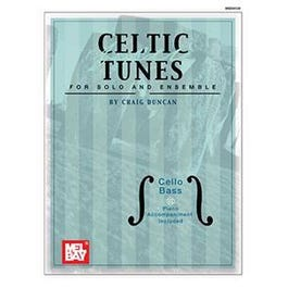 Mel Bay Celtic Fiddle Tunes for Solo and Ensemble - Cello, Bass (Book + Insert)