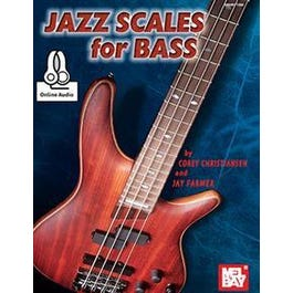 Mel Bay Jazz Scales for Bass (Book + Online Audio)