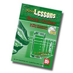 Image for First Lessons Rock Guitar Book & CD from SamAsh