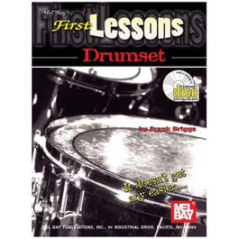 Image for First Lessons Drumset Book & CD from SamAsh