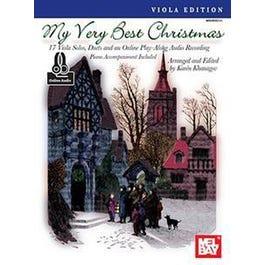 Mel Bay My Very Best Christmas, Viola Edition (Book + Insert + Online Audio)