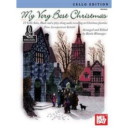 Mel Bay My Very Best Christmas, Cello Edition (Book + Insert + Online Audio)