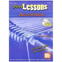 Image for First Lessons for Accordion (Book/CD) from SamAsh