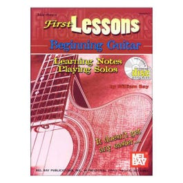 Image for First Lessons Beginning Guitar (Book/CD) from SamAsh