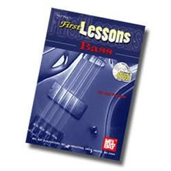 Image for First Lessons Bass Book & CD from SamAsh