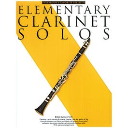 Image for Elementary Clarinet Solos (Everybody's Favorite Series) from SamAsh
