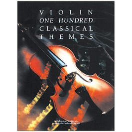 Image for One Hundred Classical Themes: Violin from SamAsh