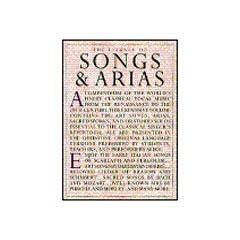Image for Library Of Songs & Arias from SamAsh