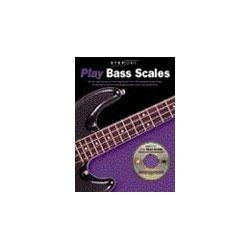 Image for Step One Play Bass Scales Book & CD from SamAsh