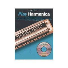 Image for Step One Play Harmonica Book & CD from SamAsh