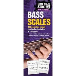 Hal Leonard The Gig Bag Book of Bass Scales