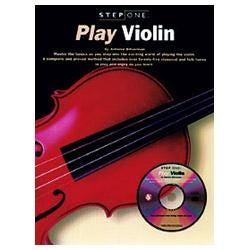 Image for Step One Play Violin Book & CD from SamAsh