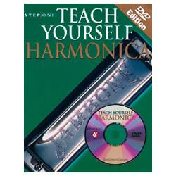 Image for Step One: Teach Yourself Harmonica Book & DVD from SamAsh