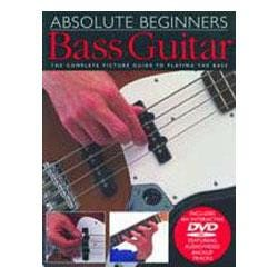 Image for Absolute Beginners Bass Book & DVD from SamAsh