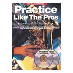 Image for Practice Like the Pros Book & CD (Sax) from SamAsh