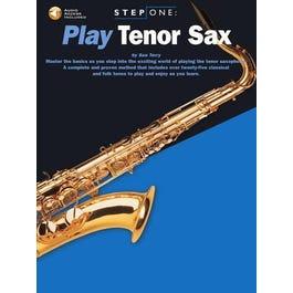 Hal Leonard Step One Play Tenor Sax-Book + Audio Online