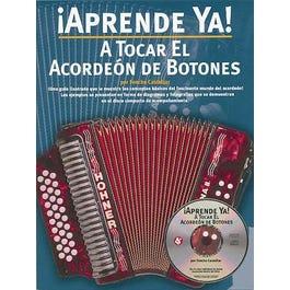 Hal Leonard !Aprende Ya! A Tocar El Acordeon De Botones-Book + Audio Online