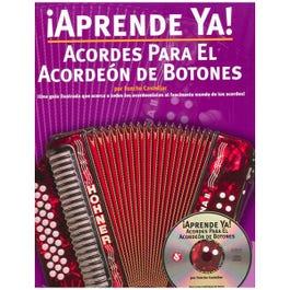 Hal Leonard Aprende Ya! Acordes Para El Acordeon De Botones-Book & CD