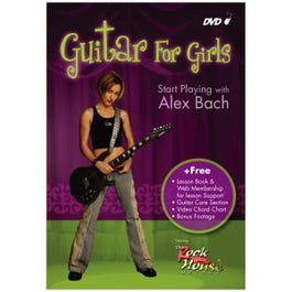 Image for Rock House: Guitar for Girls Start Playing With Alex Bach DVD from SamAsh