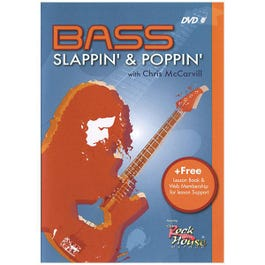 Image for Rock House Bass Slappin' & Poppin DVD from SamAsh