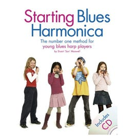 Image for Starting Blues Harmonica Book & CD from SamAsh