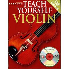 Image for Step One: Teach Yourself Violin (Book and DVD) from SamAsh