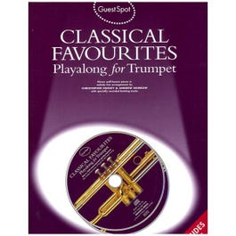 Image for Classical Favourites Playalong for Clarinet (Book/CD) from SamAsh