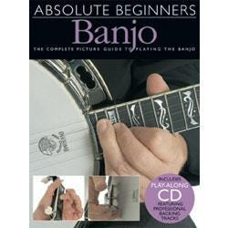 Image for Absolute Beginners Banjo (Book and CD) from SamAsh