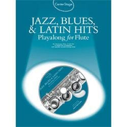Image for Center Stage Jazz Blues and Latin Hits Playalong for Flute (Book and CD) from SamAsh