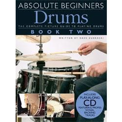 Image for Absolute Beginners Drums Book Two (Book and CD) from SamAsh