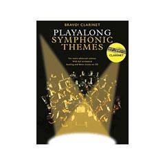 Image for Bravo! Clarinet Playalong Symphonic Themes (Book and CD) from SamAsh