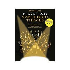 Image for Bravo! Flute Playalong Symphonic Themes (Book and CD) from SamAsh
