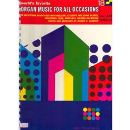 Image for Organ Music For All Occasions from SamAsh