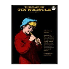 Image for The Clarke Tin Whistle Book from SamAsh