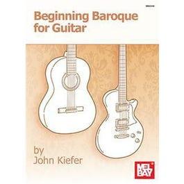 Mel Bay Beginning Baroque for Guitar (Book)