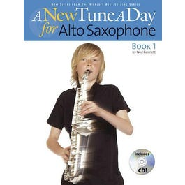 Image for A New Tune a Day for Alto Sax (Book/CD) from SamAsh