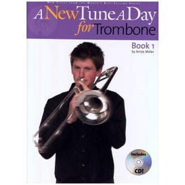 Image for A New Tune a Day for Trombone (Book/CD) from SamAsh