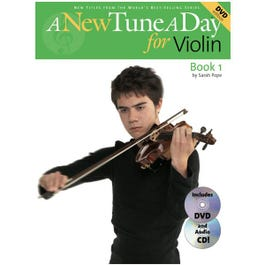 Image for A New Tune A Day for Violin (Book/CD/DVD) from SamAsh