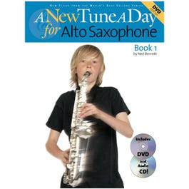 Image for A New Tune a Day for Alto Sax (Book/CD/DVD) from SamAsh