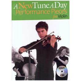 Image for A New Tune a Day Performance Pieces for Violin (Book/CD) from SamAsh