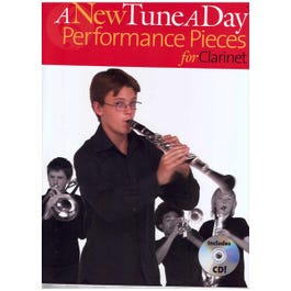 Image for A New Tune a Day Performance Pieces for Clarinet (Book/CD) from SamAsh