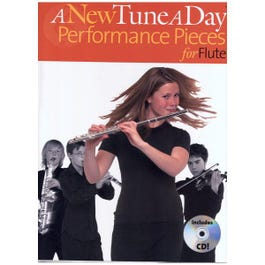 Image for A New Tune a Day Performance Pieces for Flute (Book/CD) from SamAsh