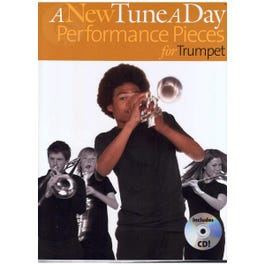 Image for A New Tune a Day Performance Pieces for Trumpet (Book/CD) from SamAsh