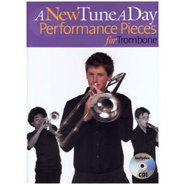 Image for A New Tune a Day Performance Pieces for Trombone (Book/CD) from SamAsh