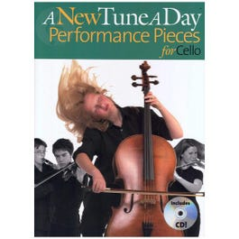 Image for A New Tune a Day Performance Pieces for Cello (Book/CD) from SamAsh